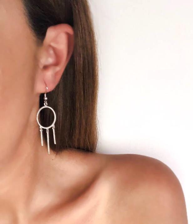 Freedom - Hook Earrings (M Size)