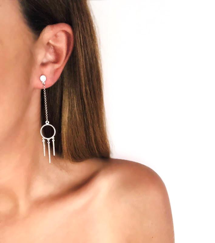 Freedom - Long Earrings