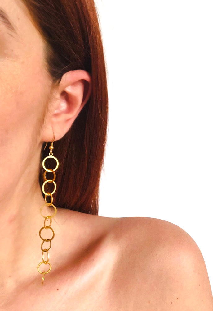 Chain Me Up - Hook Earrings (sale)
