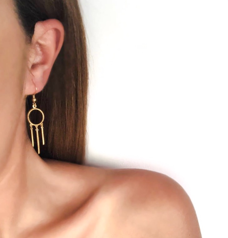 Freedom - Hook Earrings (S Size)