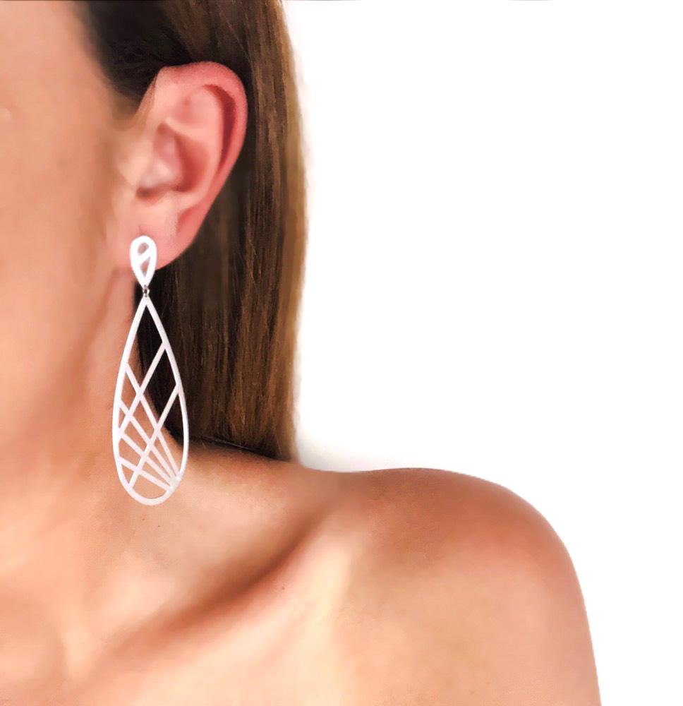 Large Drop Earring