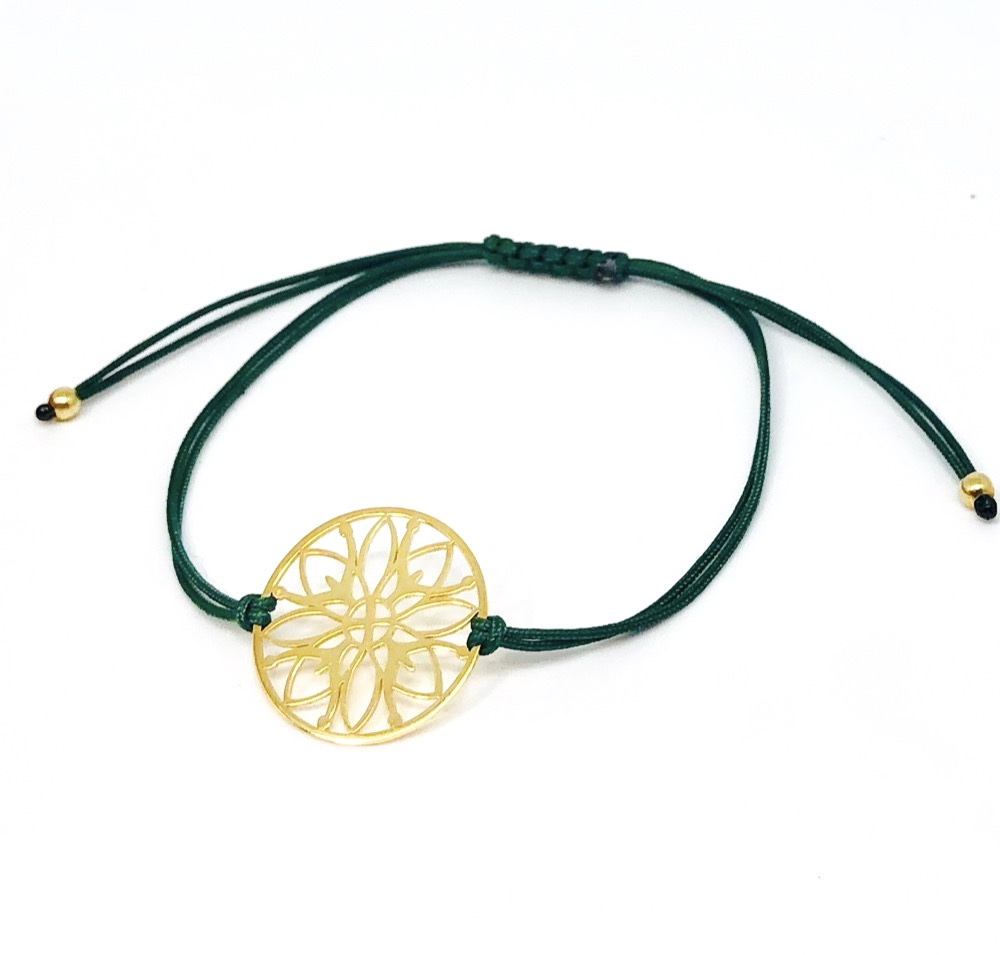 The Flower of life Mandala Cord Br