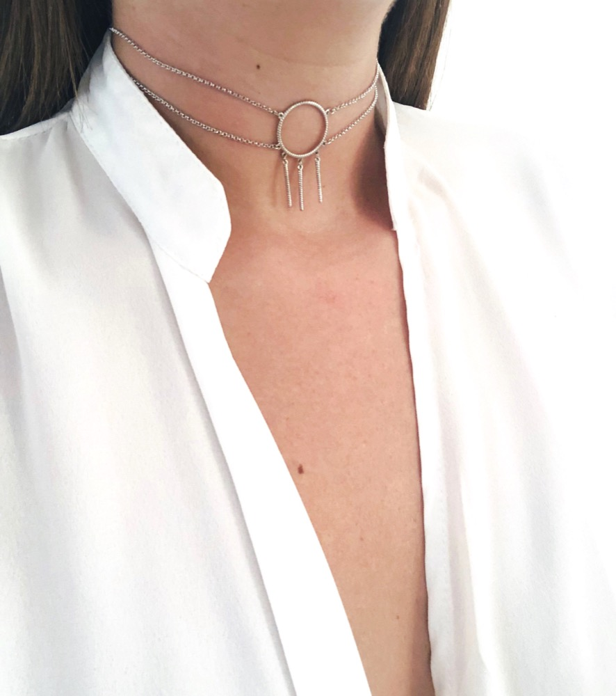 Freedom Choker Necklace (sale)
