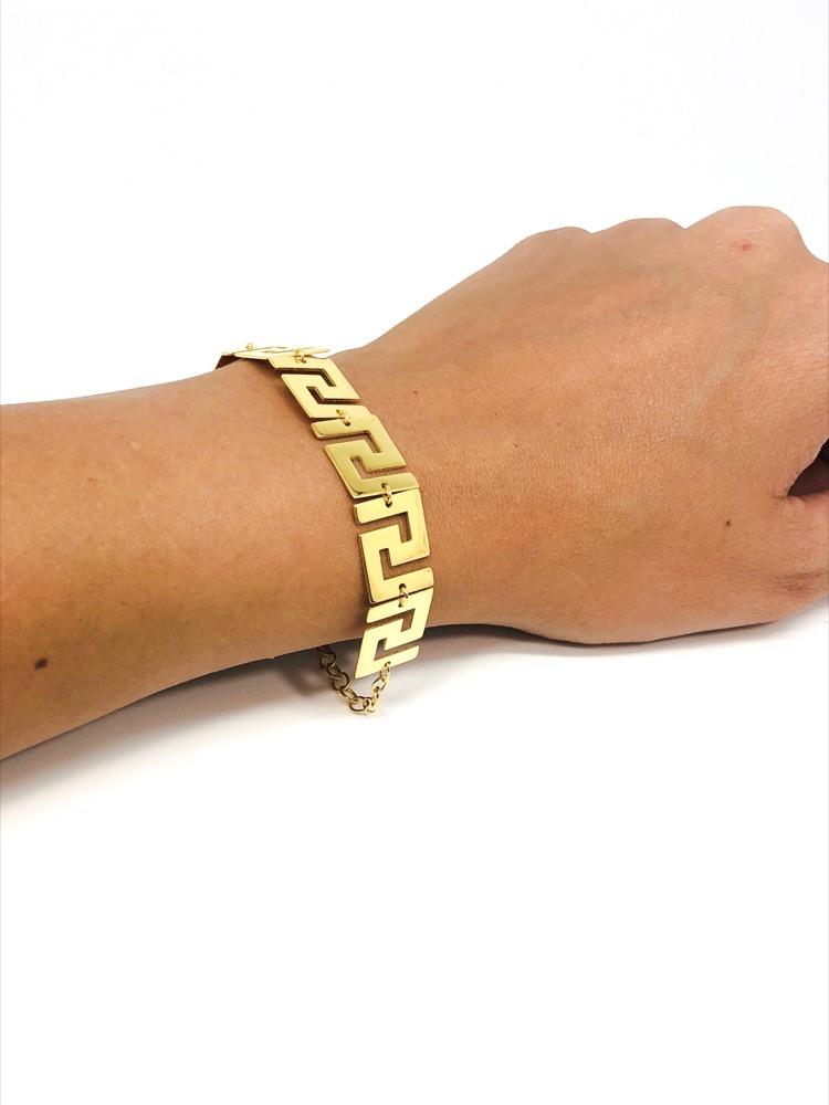 Greek Key / Meander Bracelet