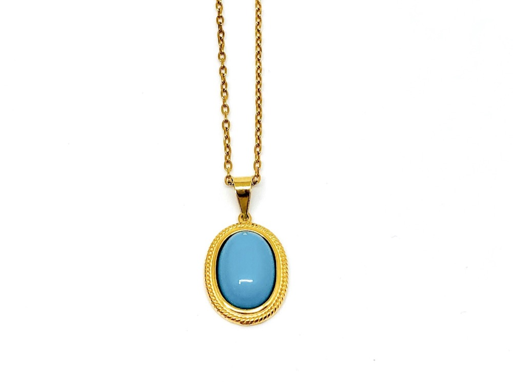 Turquoise Affair Necklace
