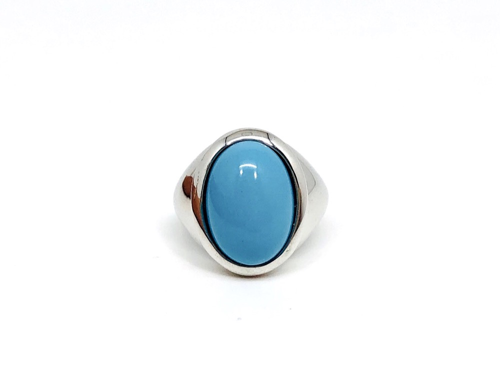 Oval Shaped Turquoise Chevalier
