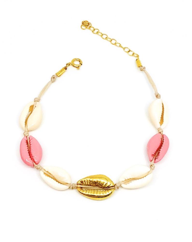 Pantone Shells Ankle Bracelet