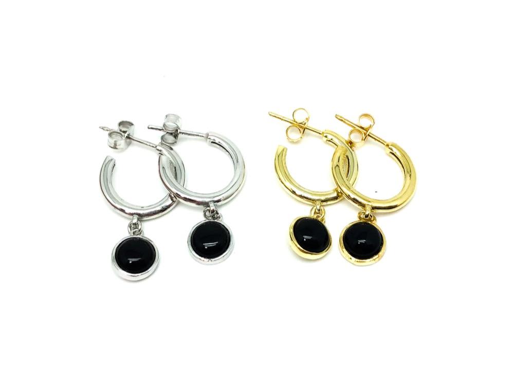 Little Onyx Earrings
